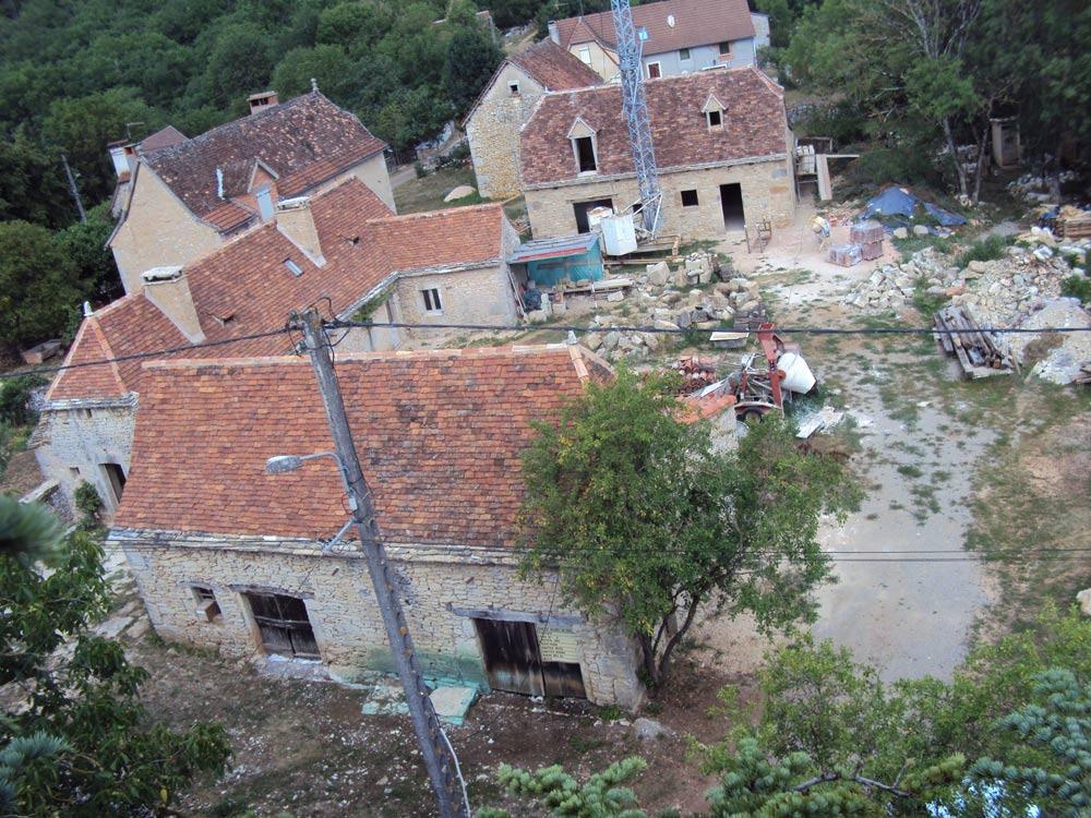Centre de formation éco construction Lot - chantier-école Livernin