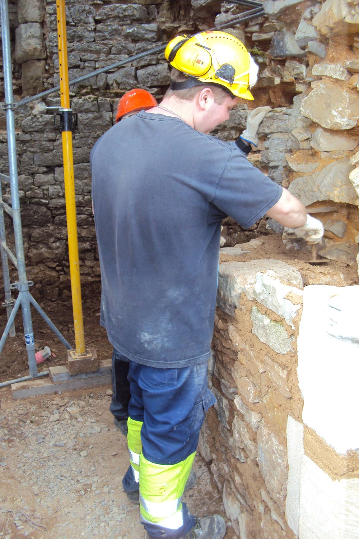 Centre de formation éco construction Lot - chantier-école