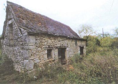 Grange du Mas de Charles avant travaux -2009