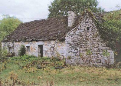 Maison de-brassiers du Mas de Charles  avant travaux