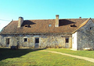 Maison de brassiers restaurée du Mas de Charles-Livernon-2012