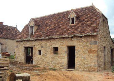 Maison neuve Mas de Charles - hors d'eau