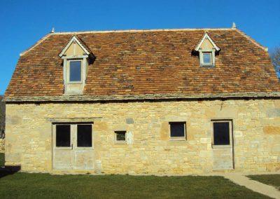 Maison neuve du mas de Charles à Livernon après travaux -2012