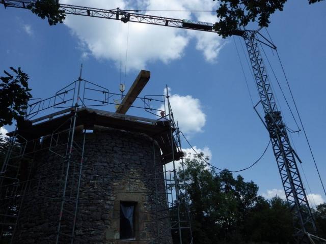 eco construction et patrimoine bâti le Moulin