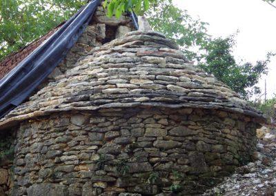eco construction formation toi - restauration - toiture four à pain