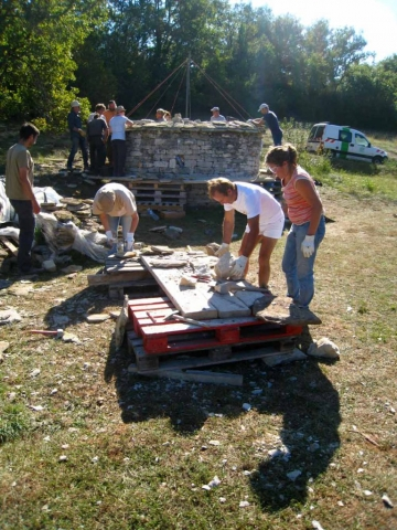 eco construction formation stage taille de pierre