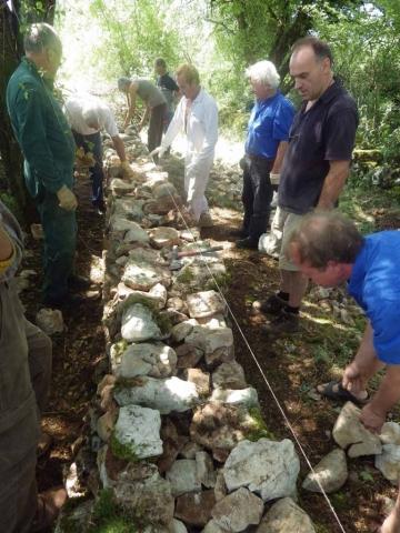 eco construction formation, pierre sèche Lot