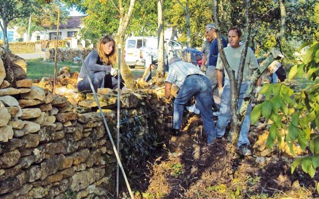eco condtruction Lot - formation pierre sèche Lot et Patrimoine bâti