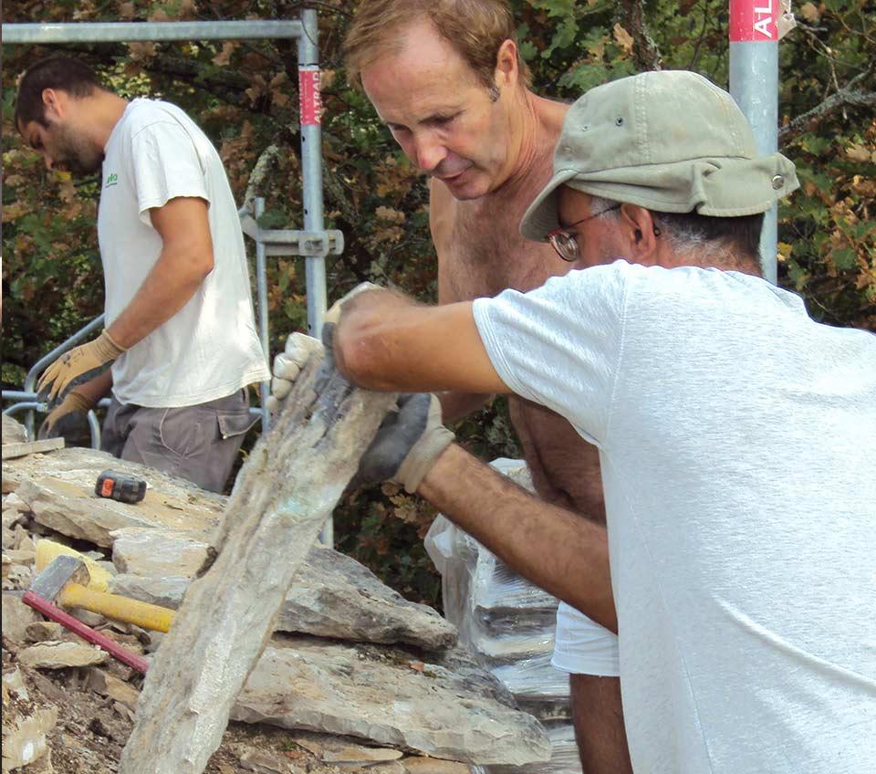 Centre de formation eco - construction lot pour une pratique artisanale