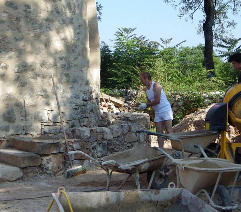 chantiers-écoles - centre de formation eco construction lot