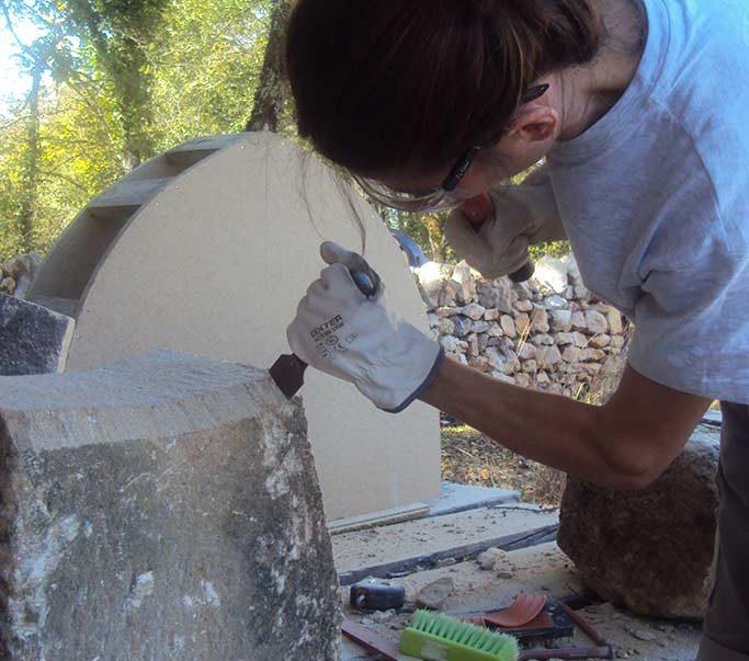 formation eco construction taille de pierre Lot