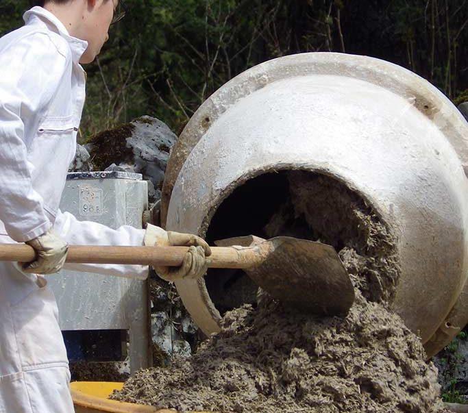 formation eco construction chaux-chanvre et Badigeon lot
